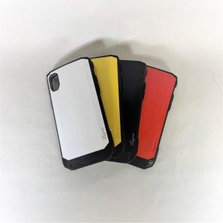 【iPhone XR】  耐衝撃ハイブリッドケース「LEGGERA」ソリッド
