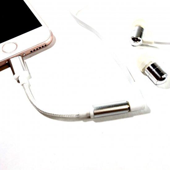 【iPhone用】Lightningオーディオ変換アダブタ 商品画像