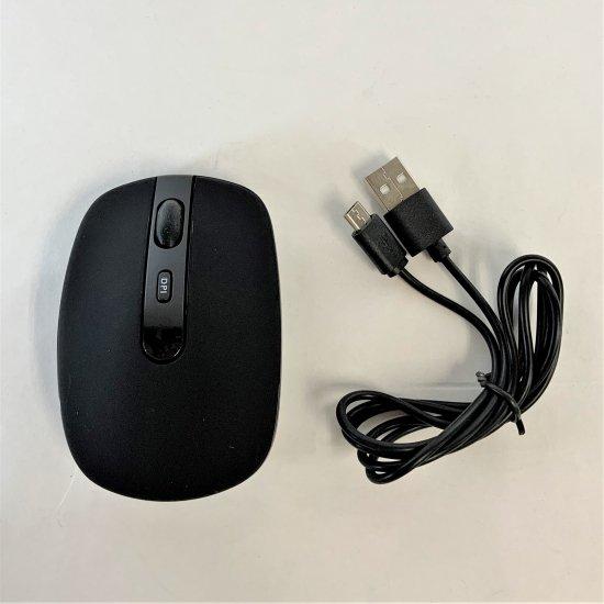 【PC/Mac/タブレット用】USB-A 充電式ワイヤレスマウス 商品画像