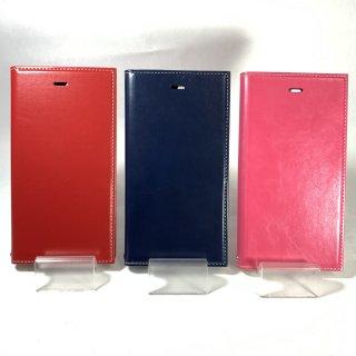 【iPhone 8Plus/7Plus】 薄型PUレザーフラップケース「PRIME」