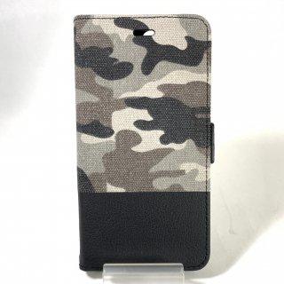 【iPhone 8Plus/7Plus】 カモフラージュ柄フラップケース「CAMOUFLAGE」
