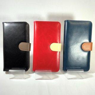 【iPhone XR】  PUレザーベルト回転ブックケース「BOOK SPIN」