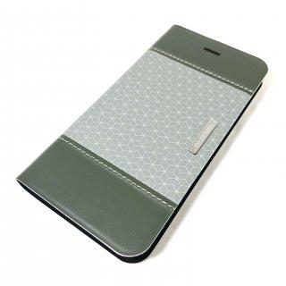 【iPhone 6/6s】 デザインPUレザーカバー「LIGHT CUBE」