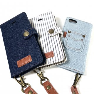 【iPhone SE/5S/5】 Design Flap Case 「Monica」【+U】