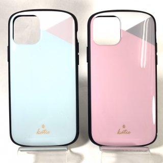 【iPhone 11 Pro】  超軽量・極薄・耐衝撃ハイブリッドケース「PALLET Katie」 パステル