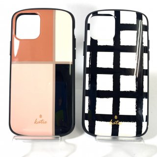 【iPhone 11 Pro】  超軽量・極薄・耐衝撃ハイブリッドケース「PALLET Katie」エレガント/ラティス