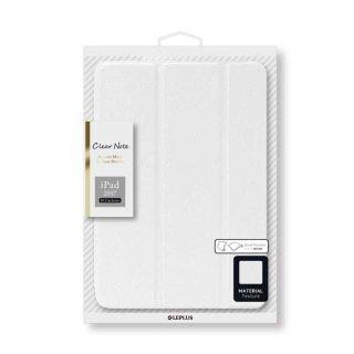 【iPad Pro 10.5inch(iPad Air 10.5inch対応)】背面クリアフラップケース 「Clear Note」 ブルー