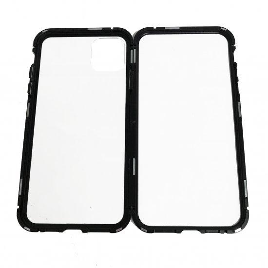 【iPhone 11 Pro Max】 ガラス&アルミケース「SHELL GLASS Aluminum」  商品画像