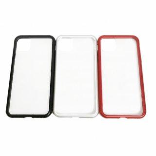 【iPhone 11 Pro Max】 ガラス&アルミケース「SHELL GLASS Aluminum」