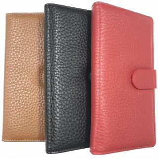 【らくらくスマートフォンme F-03K】本革ケース「Genuine Leather Flap」