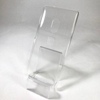 【Xperia XZ2】「CLEAR SOFT」 クリア【SO-03K/SOV37】