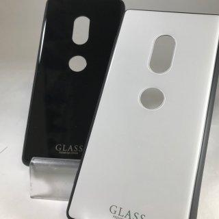 【Xperia XZ2】背面ガラスシェルケース「SHELL GLASS」【SO-03K/SOV37】