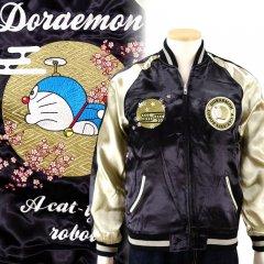 DORJ-001 ドラえもん刺繍スカジャン ドラえもん×スイッチプランニング