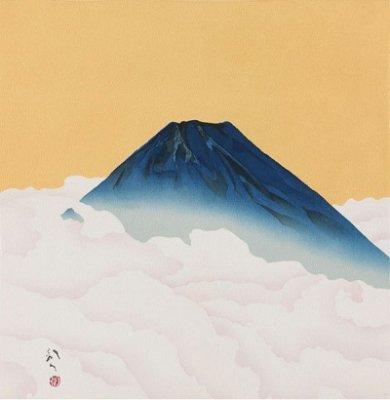 川端龍子・富士山 45cm