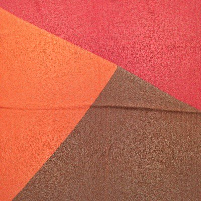 正絹 赤・金糸(75cm)