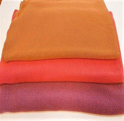 正絹無地 万葉の色 75cm