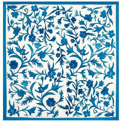 綿撥水 IRIS ブルー