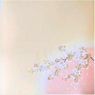正絹 桜 45cm