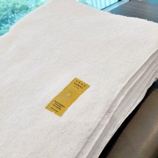 TRUE TOWEL classic SUGOI ブランケット[ホワイト]