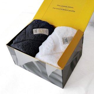 【GIFT】classic HOTEL フェイスタオル2枚セット【TRUE BOX】