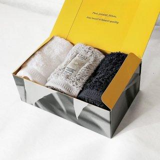 【GIFT】classic HOTEL ウォッシュタオル3枚セット【TRUE BOX】