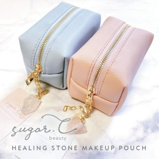 [sugar.C beauty]ヒーリングストーンメイクポーチ HEALING STONE MAKE UP POUCH