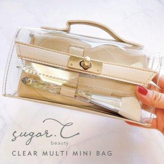 [sugar.C beauty] クリアマルチミニバック CLEAR MULTI MINI BAG