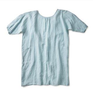 エプロンコート apron coat(サックス)