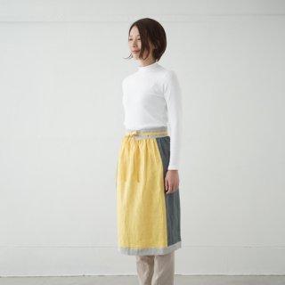 エプロンスカート apron skirt(イエロー)