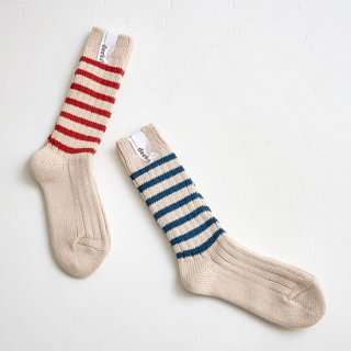 Heavy weight socks / stripes 定価2,200【30%OFF】