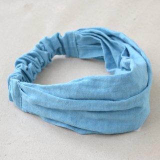 ワークヘアバンド work hairband(ブルー)