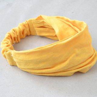 ワークヘアバンド work hairband(イエロー)