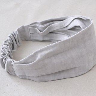 ワークヘアバンド work hairband(グレー)