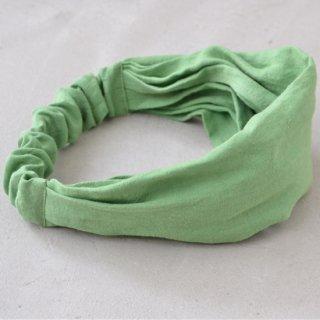 ワークヘアバンド work hairband(グリーン)