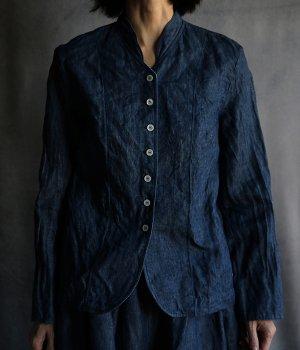 リネンデニムジャケット