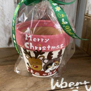 ニャン太鉢 クリスマスバージョン � 3寸 現物商品