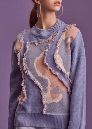 skyblue cashmere knit
