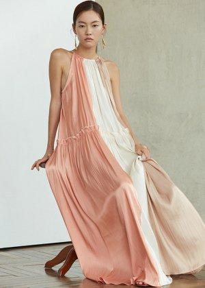 sunset beach dress