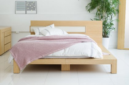 Bed Frame Bamboo