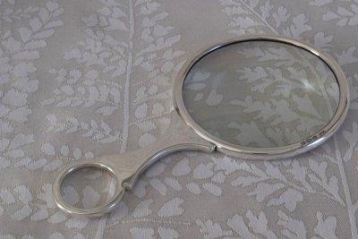 純銀拡大鏡 大判