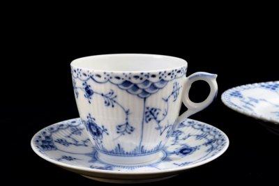 ロイヤルコペンハーゲン コーヒーカップ&ソーサー+サイドプレート