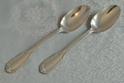 純銀 フレンチデザートスプーン ペア