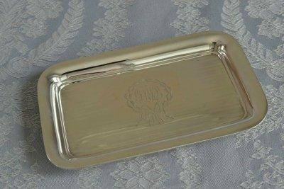 純銀リボンミニトレイ