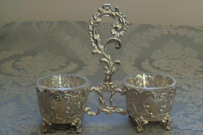 純銀 フレンチソルト&ペッパー