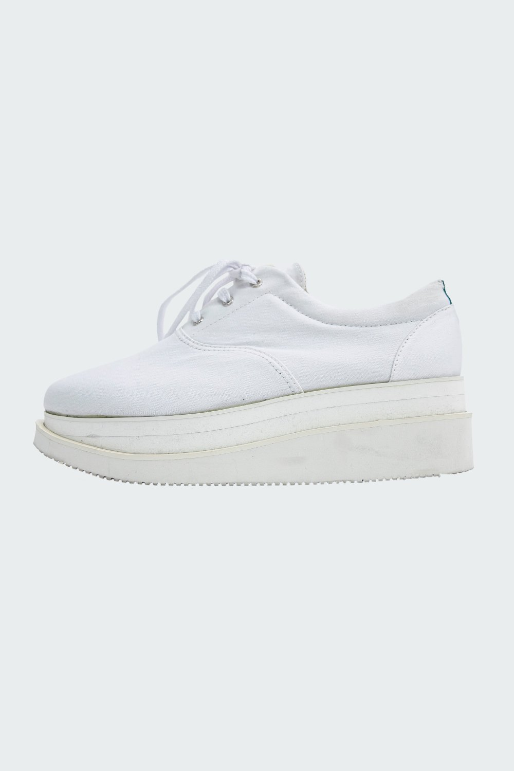 <img class='new_mark_img1' src='https://img.shop-pro.jp/img/new/icons56.gif' style='border:none;display:inline;margin:0px;padding:0px;width:auto;' />NEW WEDGE SOLE SNEACKERS WHITE