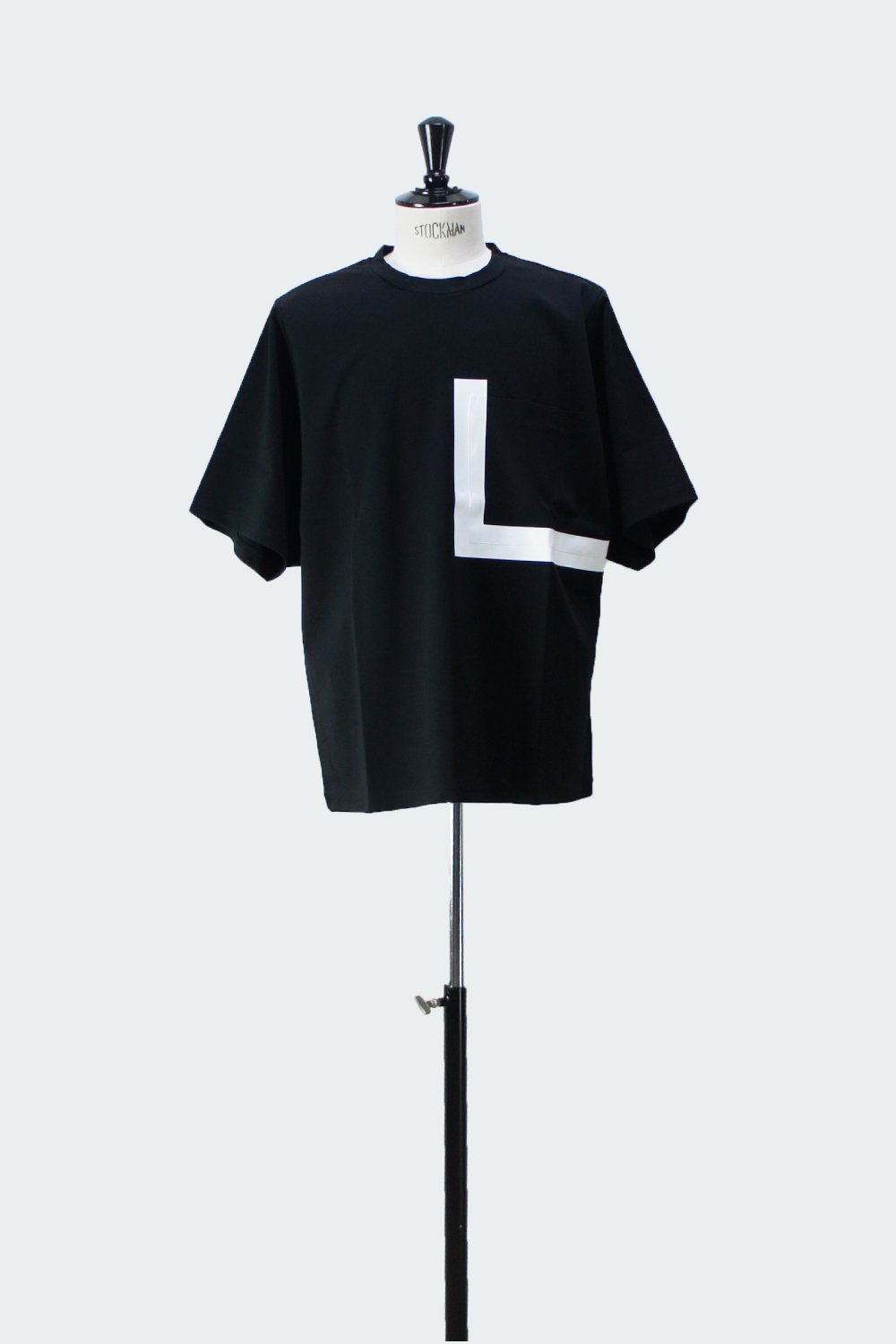 BIG POCKET T-SHIRT BLACK