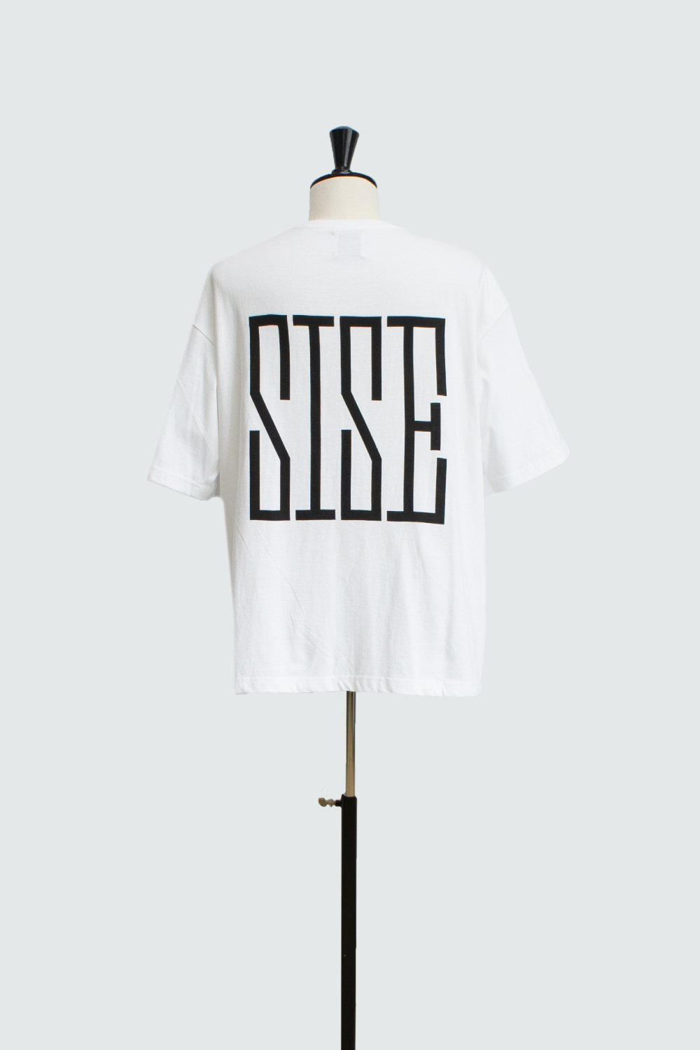 BACK PRINT SISE T-SHIRT WHITE
