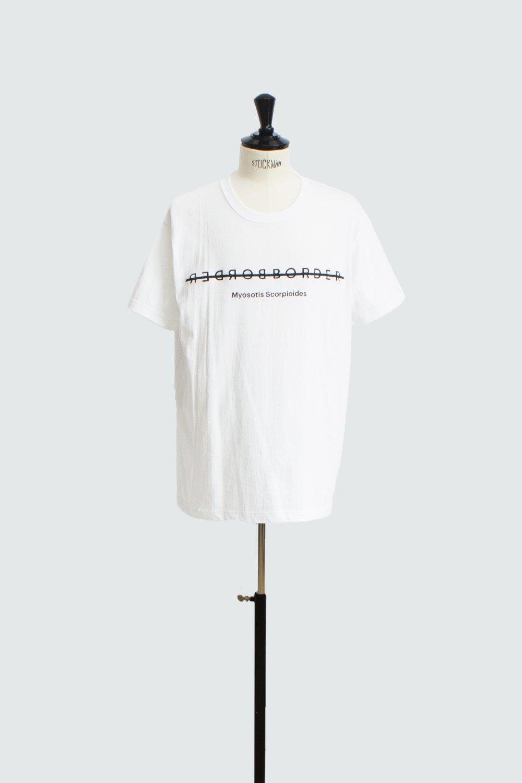 BORDER FRONT T-SHIRT WHITE