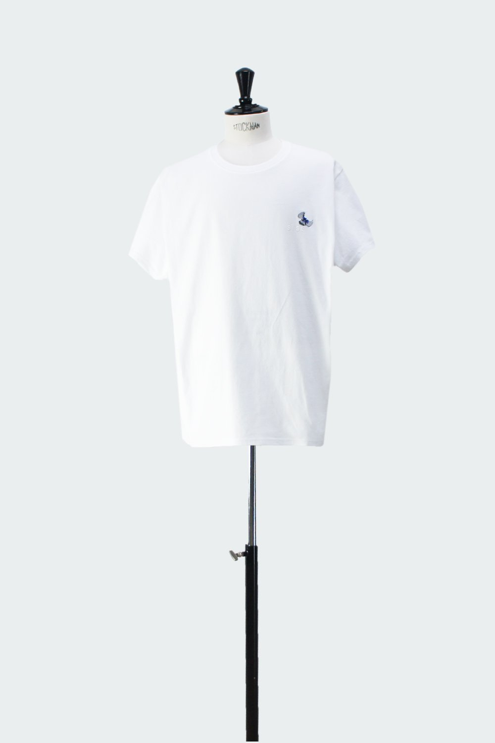 FRONT BUTTERFLY T-SHIRT WHITE