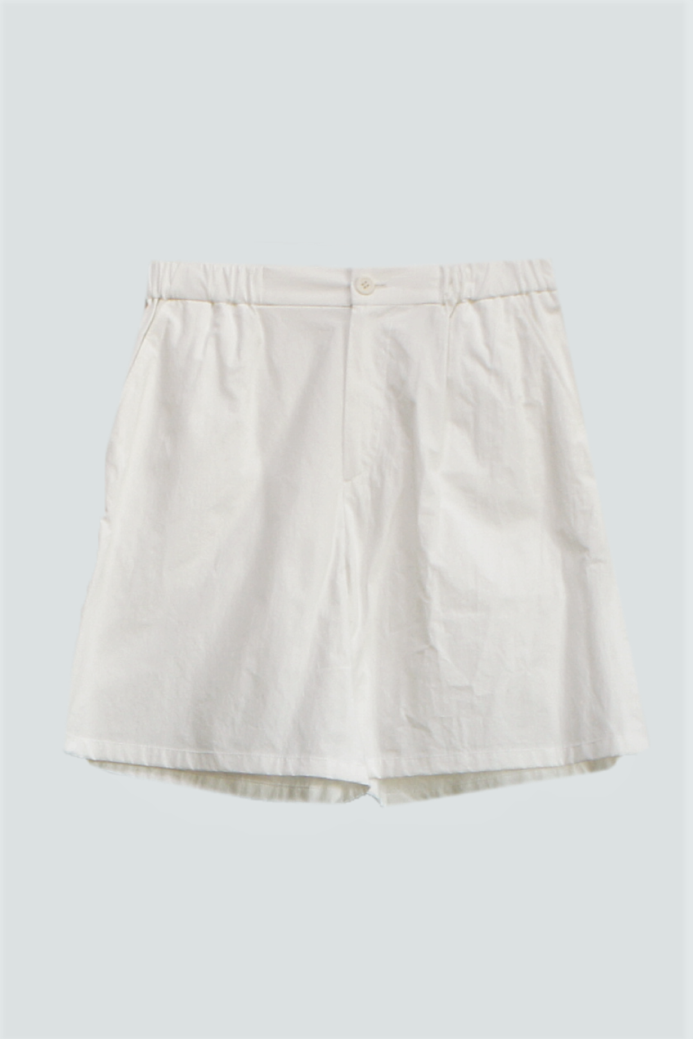 COTTON SHORT PANTS WHITE